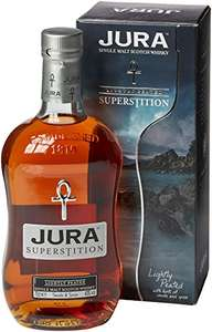 Isle Of Jura Superstition Whisky, 70 cl @ amazon for £19.99 lightning deal