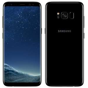 Samsung Galaxy S8 G950FD 4G 64GB Dual Sim SIM FREE/ UNLOCKED - Midnight Black - £448  Toby Deals