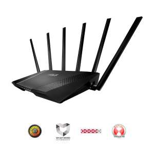 ASUS RT-AC3200 Tri-Band Wireless Gigabit Router (High-end Router) - Amazon.co.uk for £139.55