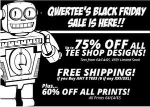 Qwetee  Black Friday sale