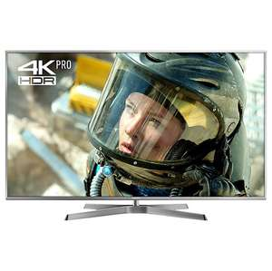 "Panasonic 65EX750B LED HDR 4K Ultra HD 3D Smart TV, 65"" with Freeview Play/Freesat HD & Swivel Stand, Silver, Ultra HD Certified £1664.10 -  John Lewis"