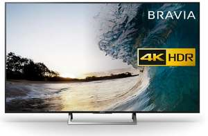 Sony Bravia KD55XE8596 4KTV with UBPX800 4K Blu Ray Player £849 with BLACK50 code at RicherSounds