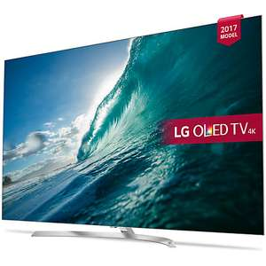 "LG OLED55B7V OLED HDR 4K Ultra HD Smart TV, 55"" £1399 - John Lewis"