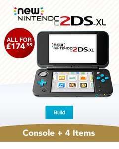 Nintendo 2DS XL + Game + Case + Amiibo + Gift + Soft Pouch + Free Calendar (with code) + Free Delivery - £174.99 @ Nintendo Store