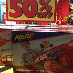 Hamleys m strike mega NERF £49.50 from £99 instore Cardiff