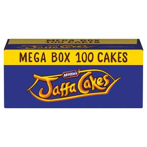 McVities Jaffa Cakes (Box of 100 = 4p per cake) ONLY £4.00 @ The Food Warehouse by Iceland