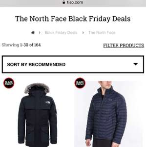 20% OFF THE NORTH FACE @ Tiso