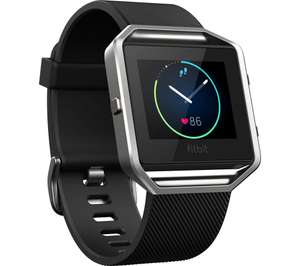 Amazon Prime NOW - Fitbit Blaze Smart Activity Tracker and Fitness Watch - Black Use first time only code TENNOW. without prime its £106.99