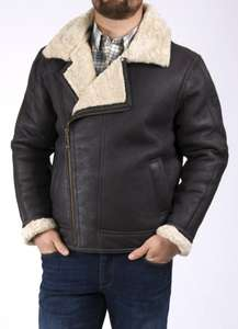 Men's Sheepskin Flying Jacket - £295 @ Lakeland Leather