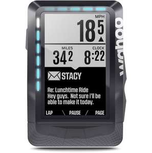 Wahoo ELEMNT GPS Cycling Computer - £189.99 @ CRC.   Normal Price - £249.99