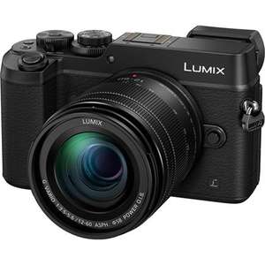 Panasonic Lumix GX8 Camera with 12-60mm Lens, Free SD Card and £100 Cashback (£499 after cashback) @ Park Cameras
