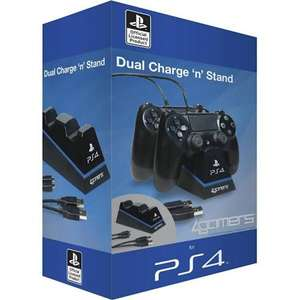 Officially Licensed Dual Charge 'n' Stand 4Gamers £7.99 (Tesco)