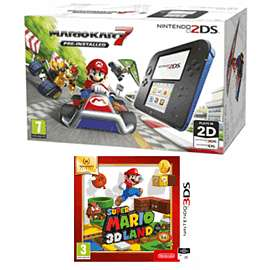 Nintendo 2DS with Mario Kart 7  & Super Mario 3D Land - £79.99 @ GAME (Online & instore)