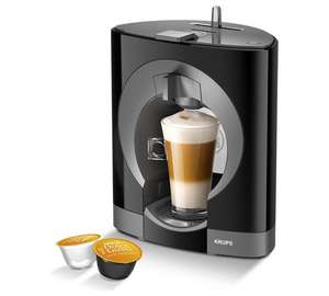 NESCAFE Dolce Gusto Oblo Manual Coffee Machine - Black ONLY £34.99 @ Argos