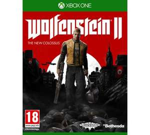 Wolfenstein II the new Colossus Xbox One Game - £22.99 @ Argos