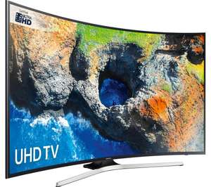 Samsung 55in UE55MU6220 Curved 4K Ultra HD certified HDR Smart TV - £549 @Currys + 10% topcashback for 24 hours