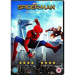 Spider-Man Homecoming DVD - £7 @ Tesco Direct