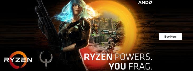 AMD Ryzen 5 1600 & Asus AMD PRIME B350-PLUS Mobo & 2 FREE Blockbuster Games £238.96 at Ebuyer.