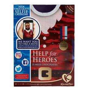 Help for Heroes Advent Calendar £1 free delivery