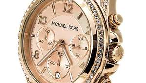 Michael Kors Blair Ladies Rose Gold Watch £99 @Gogroope