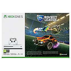 Xbox One S 500GB + Rocket League + Forza 7 + Wolfenstein 2 £180 @ Tesco Direct