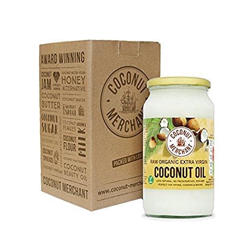 1 Litre Coconut Merchant Organic Raw Extra Virgin Coconut Oil @ Amazon