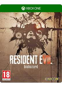 [Xbox One] Resident Evil 7 Steelbook - £15.85 - Base