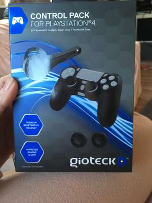 Control pack for PS4 gioteck £2.49 @ Tesco instore - Burnley
