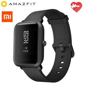 Original Xiaomi Huami AMAZFIT Smartwatch Black (45 days standby) now £37.05 delivered @ Gearbest