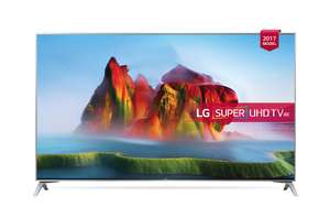"LG 49SJ800V 49"" Super UHD 4K-HDR TV £599 including 5 year LG warranty & Free Delivery @PowerDirect also at Electrical Discounts UK"
