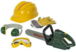 Bosch toy chainsaw and accessories (helmet and earmuffs) £23.99 @ Amazon