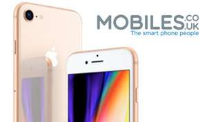 iPhone 8 64GB: Vodafone: £31/month (Unlimited Mins, Texts, 6GB Data) £100 Upfront + £40TCB £804 @ Mobiles