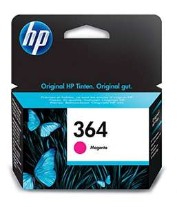 HP 364 magenta printer ink £5 each Prime / £8.99 non Prime @ Amazon