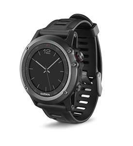 Garmin Fenix 3 GPS Multisport watch (Grey) - Amazon Lightning Deals - £199.99 (other Fenix 3 option in post)