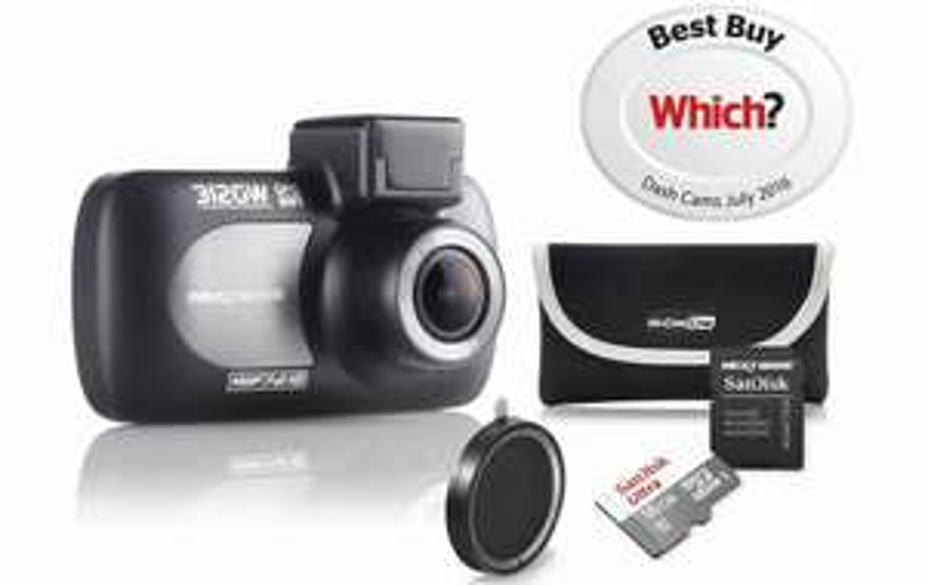 Halfords Nextbase 312gw + 16gb memory card + case+ polarising lens - £99