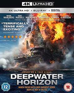 Deepwater Horizon 4K UHD at Amazon for £10 Prime (£11.99 non Prime)
