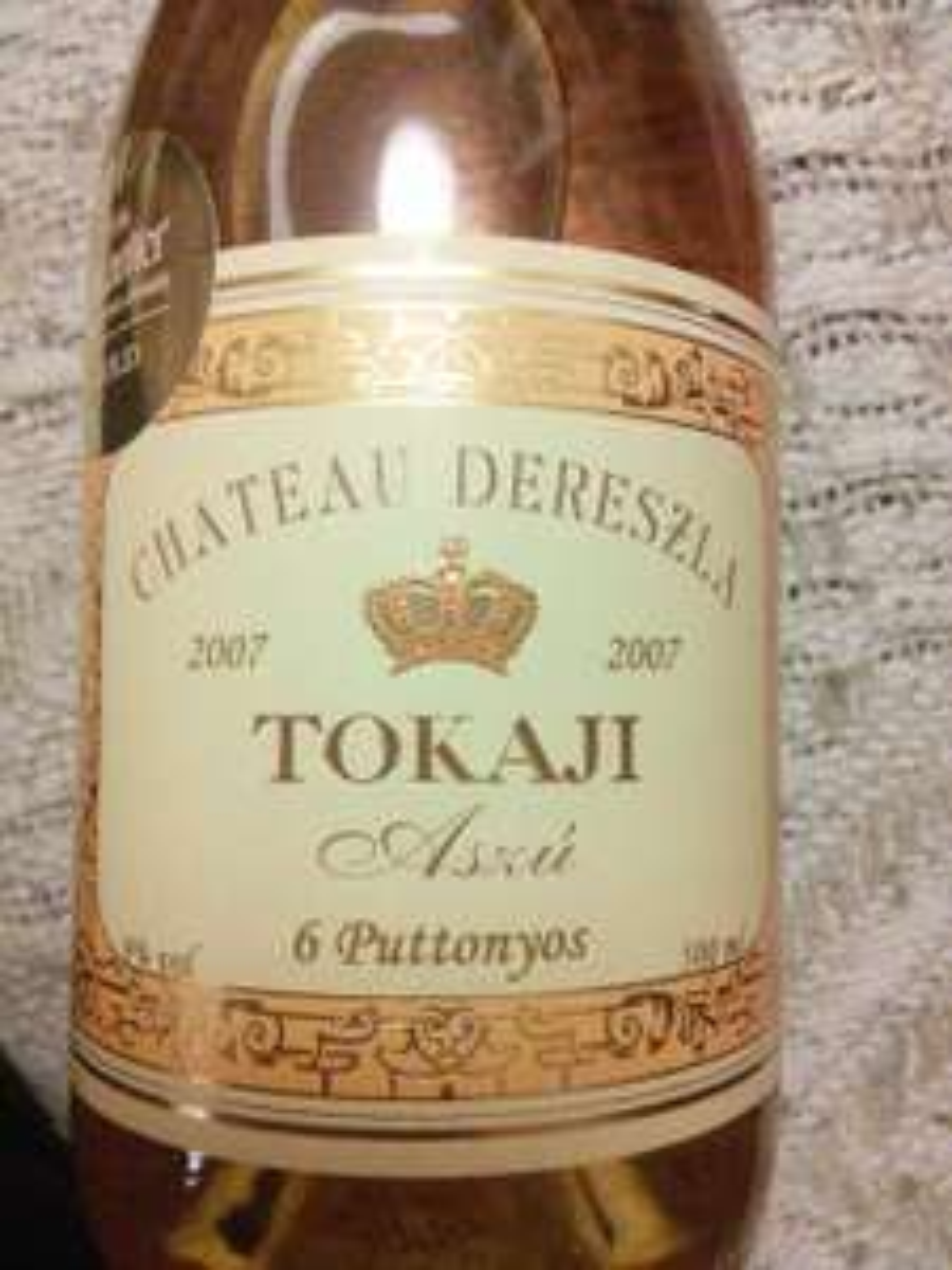 Chateau Dereszla 2007 6 Puttonyos Tokaji, 500ml £9.99 reduced from £19.99 at Lidl
