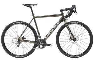 Cannondale 2017 CAADX 105 Mens Cyclocross Bike - Grey at Start Fitness for £791.10 (With Code)