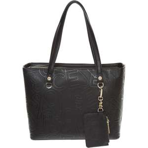 Versace Black Embossed Tote & Coin Purse £79.99 was £150 @ TKMaxx