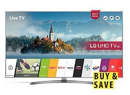 LG 49UJ750V 49 inch, 4K Ultra HD £629.99 / £633.98 delivered @ Very