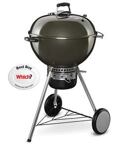 Weber Master-Touch 57cm Charcoal Barbecue - Smoke...Other colours available £167 @ Hayes