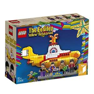 LEGO 21306 Beatles Yellow Submarine at Amazon for £34.51