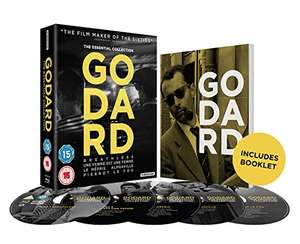 Essential Godard Blu-ray Box Set £20 @ Amazon