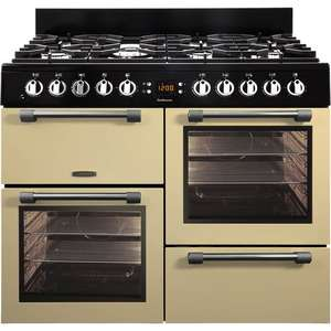 Leisure Cookmaster CK100G232C 100cm Gas Range Cooker in Cream £743 with code + £150 manufacturer cashback = Net Cost  £593 @ Co-op Electrical