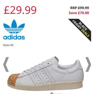 Adidas Originals superstar with rose gold / sparky copper front £29.99 + £4.49  postage at mandm direct ladies