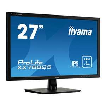 """iiyama 27"""" Quad HD IPS FreeSync Monitor X2788QS - Scan £223.99"""