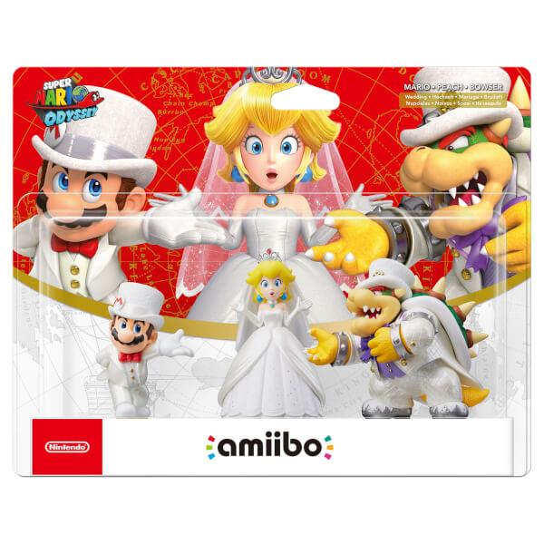 Store Nintendo Wedding Outfit amiibo Set (Super Mario Collection) £32.99