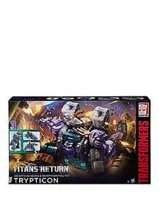 Transformers Titans Return Titan Class Trypticon - £30 discount, free delivery with click + collect, buy now pay later for 6 months £119.99 @ Very