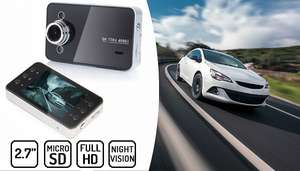 2.7 Inch HD Dash Cam £6.99 or £12.99 with 32G SD Card @gogrooopie (£9.99 with P&P)