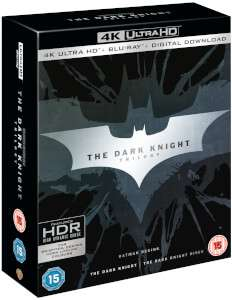 Dark Knight Trilogy 4k £33.99 ZAVVI 1HOUR WITH CODE BFPOWER